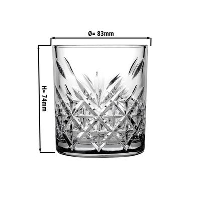 Timeless water glass - 0.21 litres - set of 12