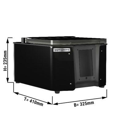 Multifunktionales Vakuumgerät 4,8 m³/h - mit Touchscreen & WiFi - Schwarz