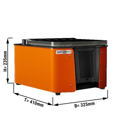 Multifunktionales Vakuumgerät 4,8 m³/h - mit Touchscreen & WiFi - Orange