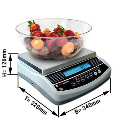 Balance 6 kg / précision à:  2 g