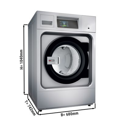 Electric washing machine - 10 kg - 1250 tours – with touch panel