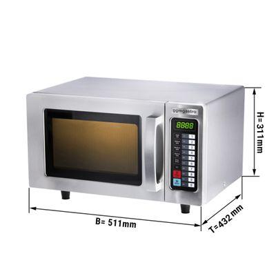 Microwave digital 25 litres - 1000 watts
