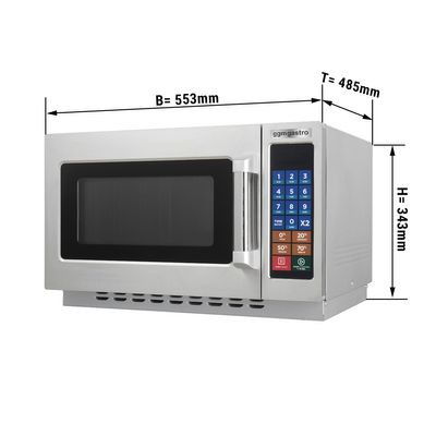 Microwave - 34 litres - 1400 watts