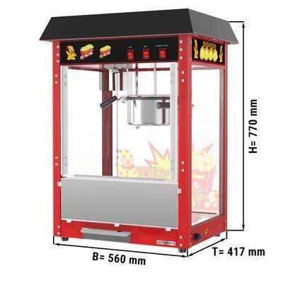 Popcornmaschine - 5 kg/h - mit 1 Kessel